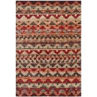 Safavieh Tahoe Brown/ Terracotta Rug - 4' x 6'