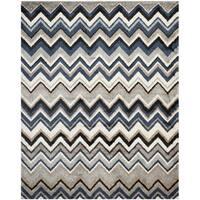 Safavieh Tahoe Grey/ Light Blue Rug - 8' x 10'