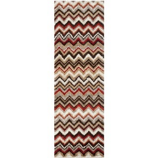 Safavieh Tahoe Beige/ Brown Rug (2'6 x 8')