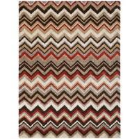 Safavieh Tahoe Beige/ Brown Rug - 5'1 x 7'6