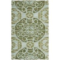 Safavieh Handmade Wyndham Turquoise Wool Rug - 2' x 3'