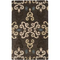Safavieh Handmade Wyndham Brown Wool Rug - 2' X 3'