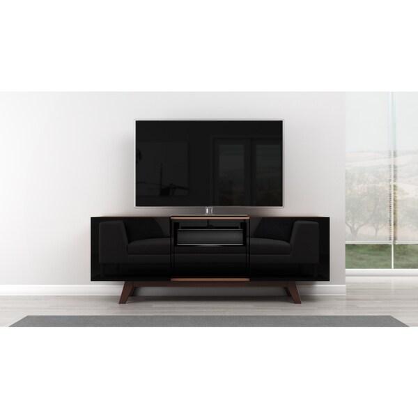 Shop Furnitech Modern 70 Inch Tv Stand Media Console Free Shipping