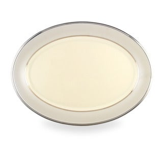 Lenox Ivory Frost 16-inch Oval Platter