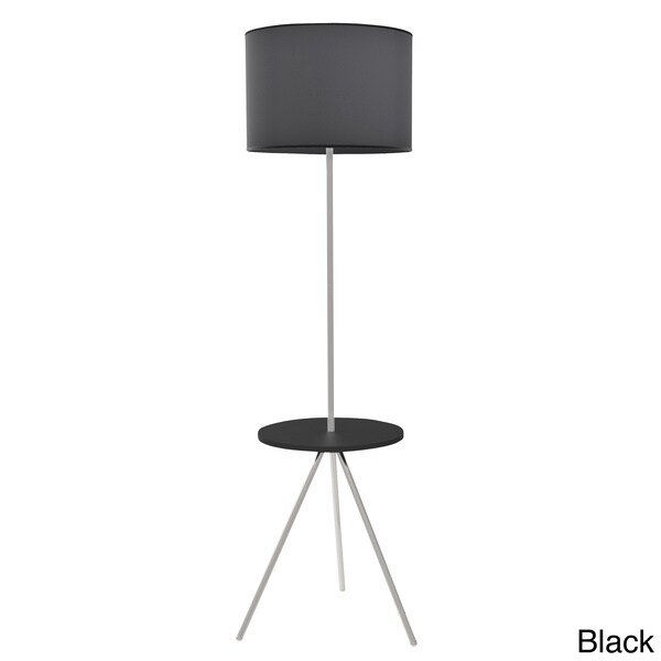 Modern Floor Lamps Overstock : Modern fusion floor lamp with table free shipping today overstock