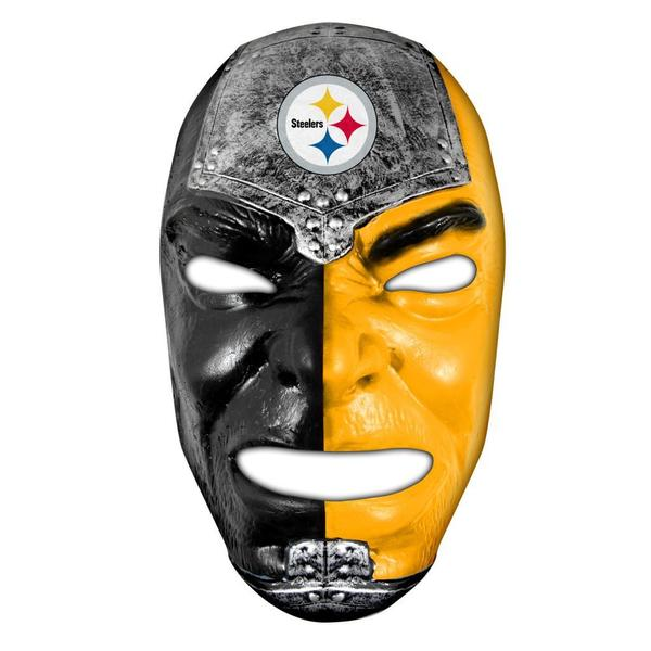 Shop Nfl Pittsburgh Steelers Fan Face Free Shipping On