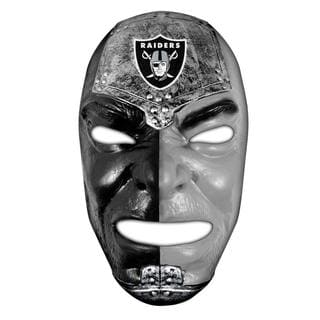 NFL Oakland Raiders Fan Face
