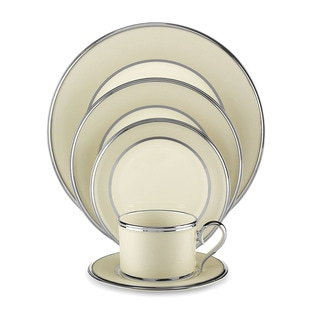 Lenox Ivory Frost 5-piece Dinnerware Place Setting