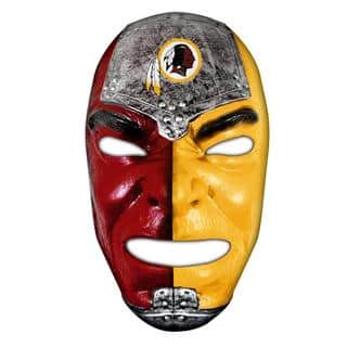 NFL Washington Redskins Fan Face|https://ak1.ostkcdn.com/images/products/8389494/8389494/NFL-Washington-Redskins-Fan-Face-P15692331.jpg?impolicy=medium