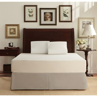 WHITE by Sarah Peyton 10-inch Traditional Full-size Memory Foam Mattress and Pillow Set (2 options available)
