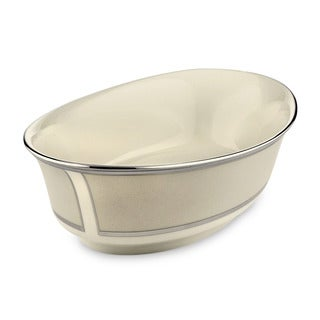 Lenox 'Ivory Frost' 10-inch Open Vegetable Bowl