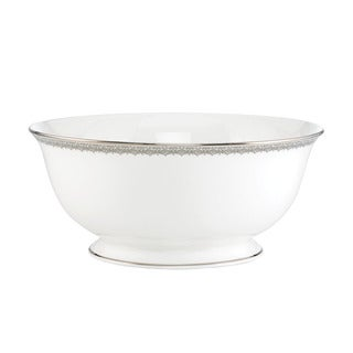 Lenox 'Lace Couture' 8.5-inch Serving Bowl