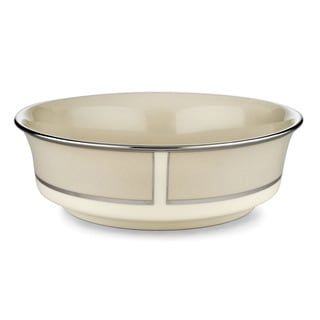 Lenox 'Ivory Frost' 9.25-inch Serving Bowl