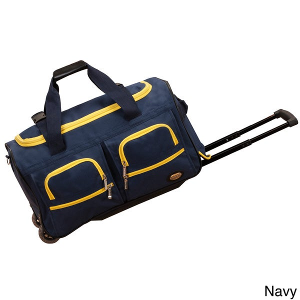 Shop Rockland 22 Inch Lightweight Carry On Rolling Upright