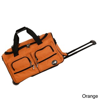 Rockland 22-inch Lightweight Carry-on Rolling Upright Duffel Bag