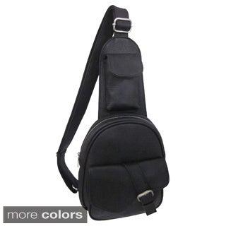 Amerileather 'Edwin' Mini 1-strap Sling Messenger Bag