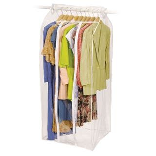 Richards Homewares Clear Vinyl Frameless Jumbo Dress Bag|https://ak1.ostkcdn.com/images/products/8389646/P15692476.jpg?impolicy=medium