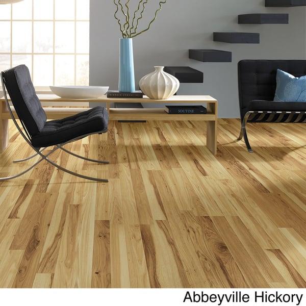 Shop Shaw Industries Woodford Crimson Faux Wood Laminate Flooring