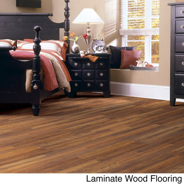 Shaw industries woodford crimson faux wood laminate for Hardwood floors 600 sq ft