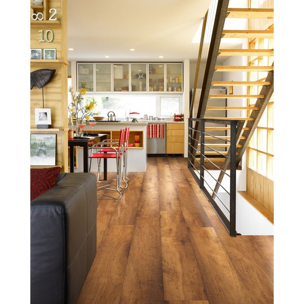Shaw Landscapes Faux Wood Laminate Flooring 26 4 Sq Ft