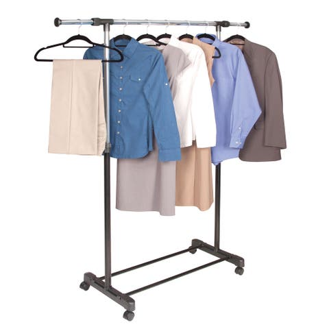 Richards Homewares Chrome Extendable Garment Rack