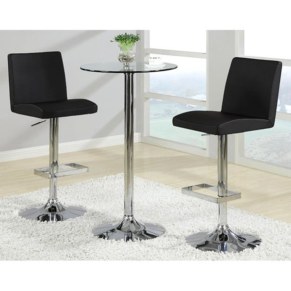 Shop Avril Contemporary Adjustable Barstools Set Of 2