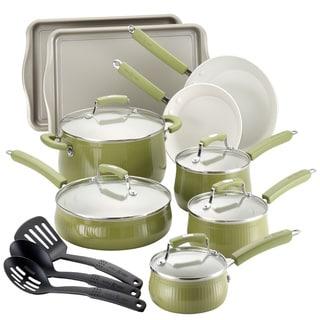 Paula Deen Savannah Collection Pear 17-piece Aluminum Cookware/ Bakeware Set