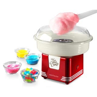 Nostalgia PCM405RETRORED Retro Series Hard and Sugar-free Candy Cotton Candy Maker|https://ak1.ostkcdn.com/images/products/8389874/P15692652.jpg?impolicy=medium