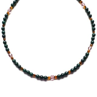 Every Morning Design Forest Green Mountain Jade Necklace
