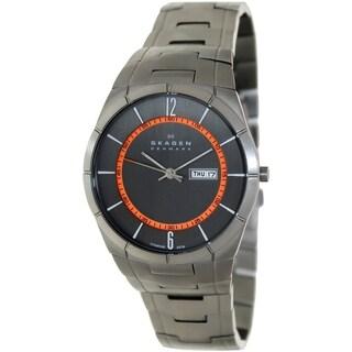 Skagen Men's Aktiv Silver Stainless Steel Quartz Watch