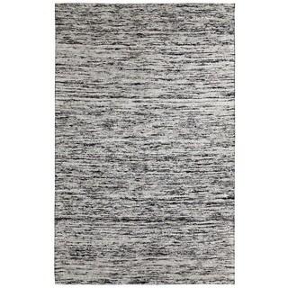 Loft Varigated Stripe Multi/ Beige Rug (4' x 6')