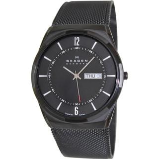 Skagen Men's Aktiv Black Stainless Steel Quartz Watch