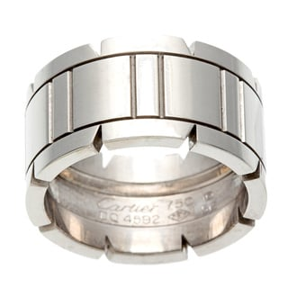 Pre-owned Cartier 18k White Gold Ring