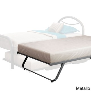 Amisco Solid Steel Folding Trundle bed (3 options available)