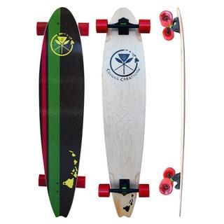 "Kahuna Creations Beach Board Rasta 44"" Longboard"