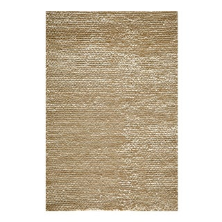 Modern Town Hand-woven White Area Rug (5' x 7')