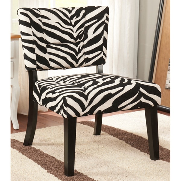 K&B Zebra Accent Chair