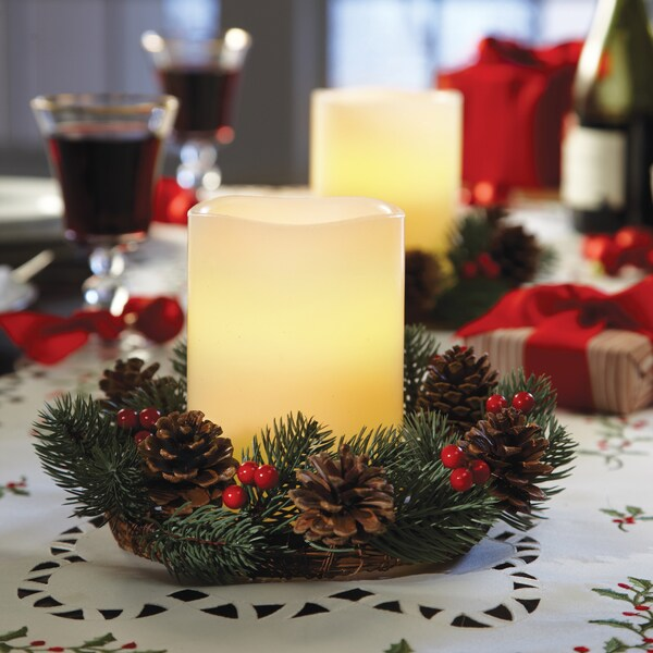 Shop order home collection piece holiday led candle and