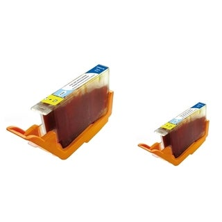 INSTEN Photo Cyan Ink Cartridge for Canon PGI-9PC (Pack of 2)