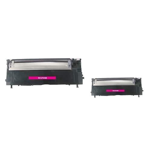 Refilled Insten CLT-M407S Magenta Non-OEM Toner Cartridge Replacement for Samsung CLP-320/ CLP-320N/ CLP-321N/ CLP-32
