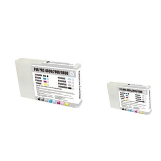 INSTEN Epson T543100 PBK 2-ink Photo Black Cartridge Set (Remanufactured)