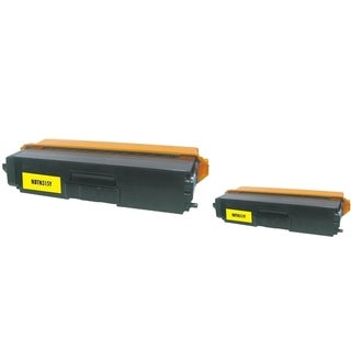 INSTEN 2-ink Yellow Cartridge Set for Brother TN310/ TN315