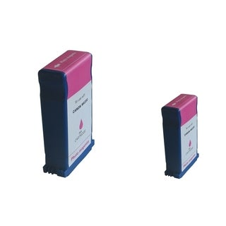 INSTEN 2-ink Magenta Cartridge Set for Canon BCI-1431PM