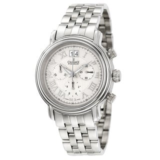 Charmex Men's 'Monaco' Stainless Steel Chronograph Watch