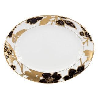 Lenox Minstrel Gold 13-inch Oval Platter
