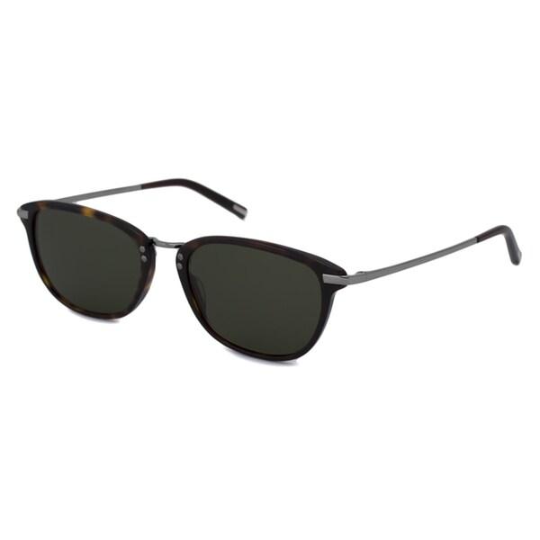 Calvin Klein Men's/ Unisex CK7106S Havana/Green Sunglasses