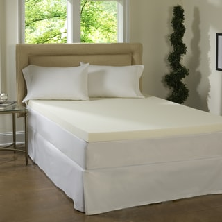 Link to Comforpedic Loft from Beautyrest 4-inch Memory Foam Mattress Topper Similar Items in Mattress Pads & Toppers