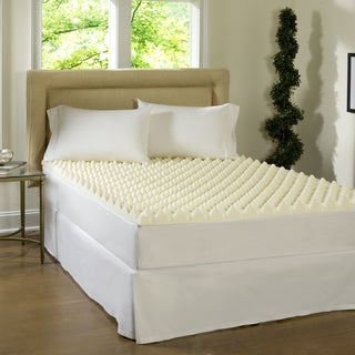 Comforpedic Loft from Beautyrest Big Bump 3-inch Convoluted Memory Foam Topper