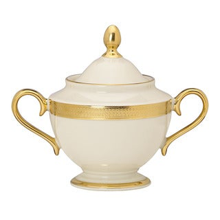 Lenox Lowell 24K Gold Accent Sugar Bowl
