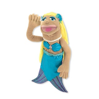 Melissa & Doug Shelly Seashore Mermaid Puppet